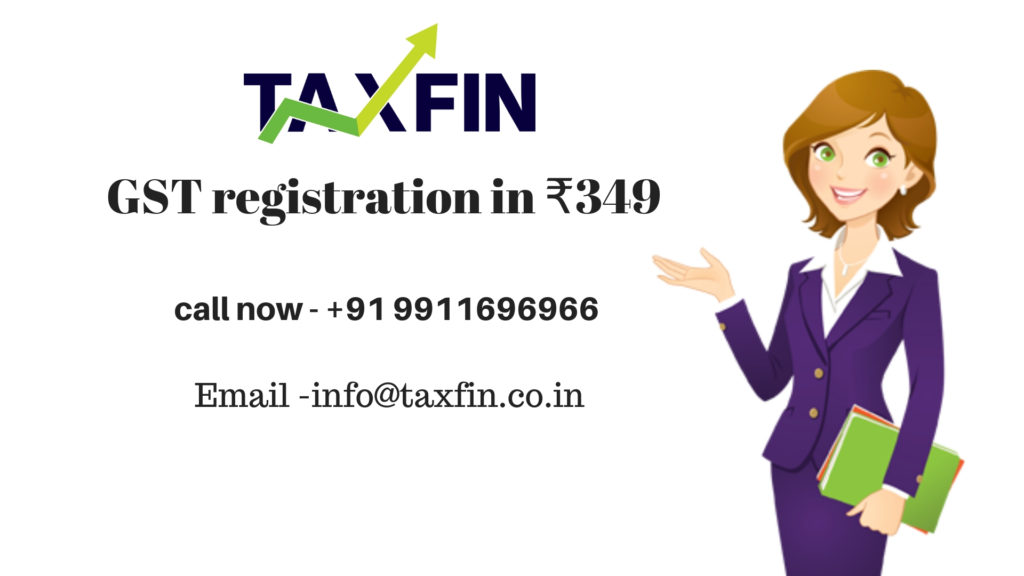 GST registration in rohini